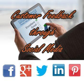 Customer Feedback through Social Media