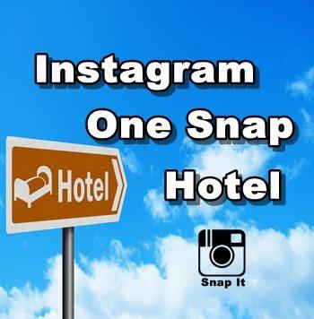 Intagram One Snap Hotel