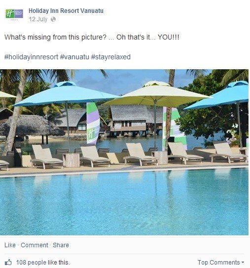 The Holiday Inn Resort Vanuatu