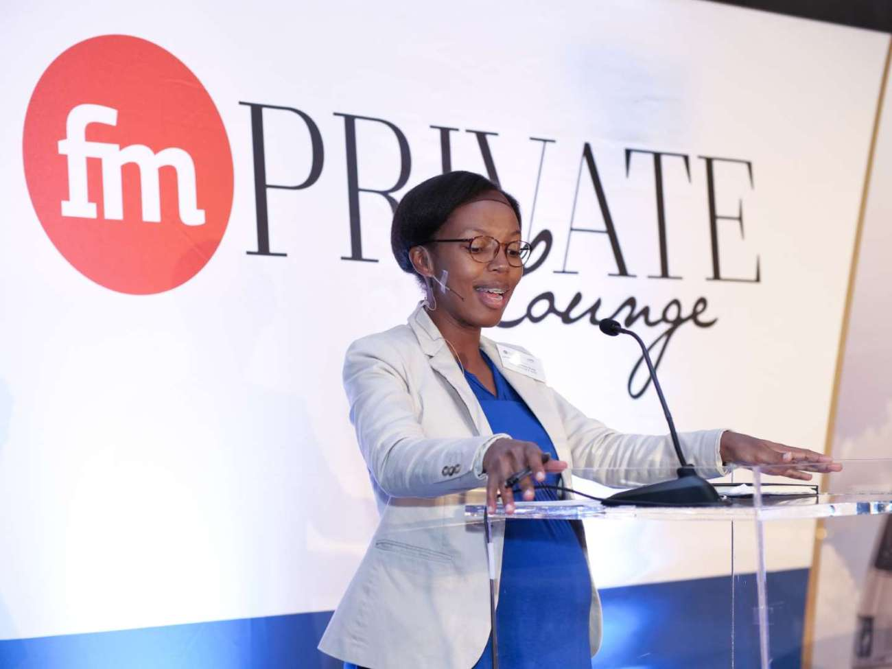Photo from Financial Mail Private Lounge in association with Gautrain