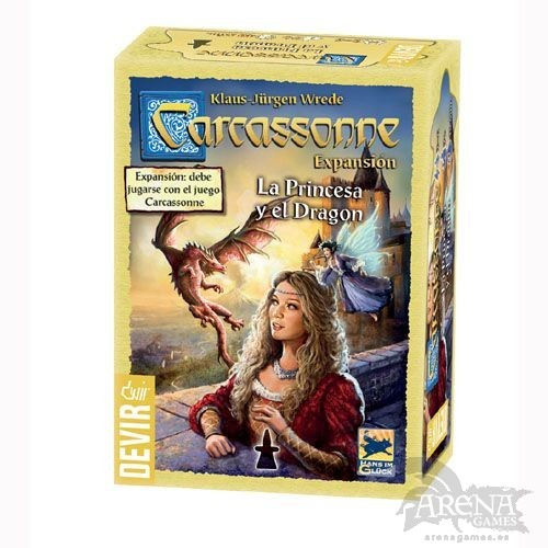Carcassonne: La Princesa y el Dragón – Juegos de Mesa – Devir