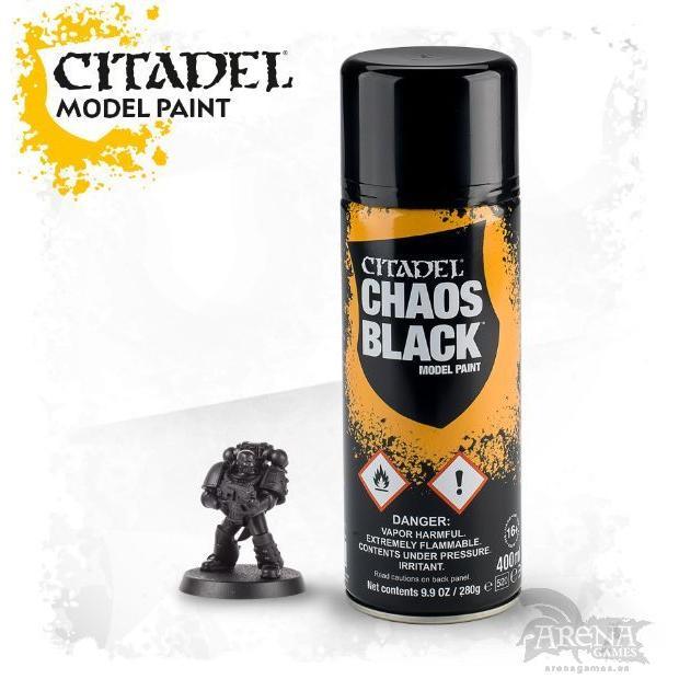 Spray Chaos Black   62-29