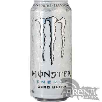 Lata Monster Ultra White 500ml.