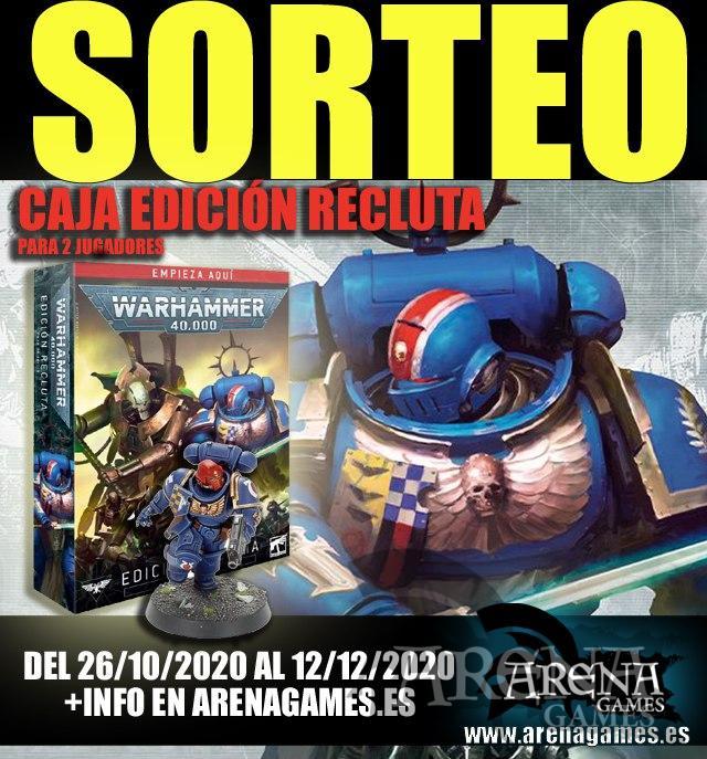 Sorteo Warhammer en Ronda Arena Games