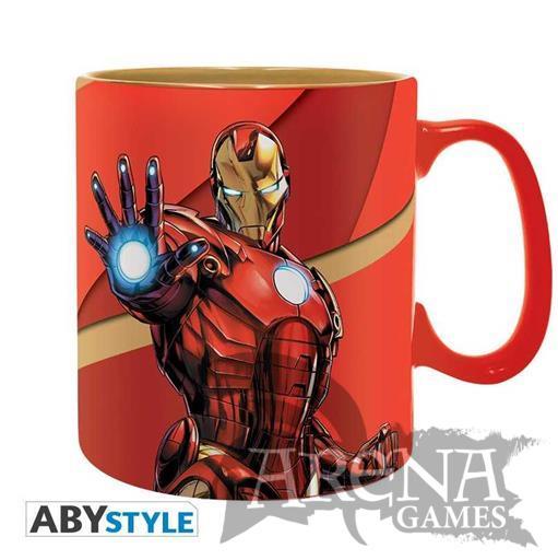 TAZA – Marvel 460 ML – Iron Man Armored