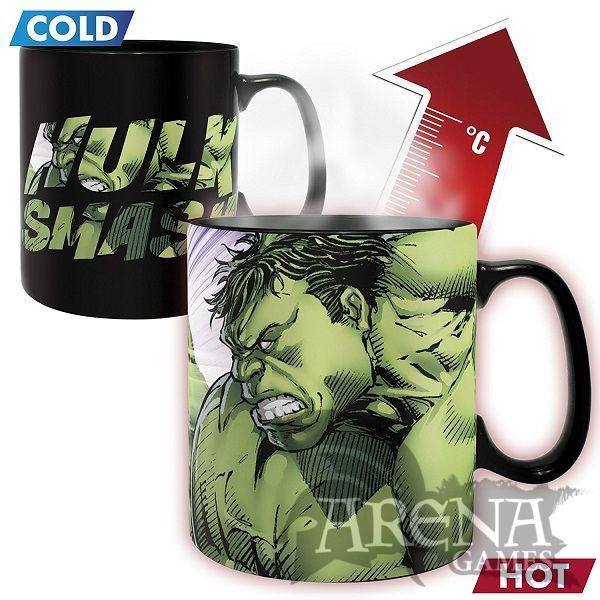 TAZA HEAT CHANGE – Marvel 460 ML – Hulk Smash