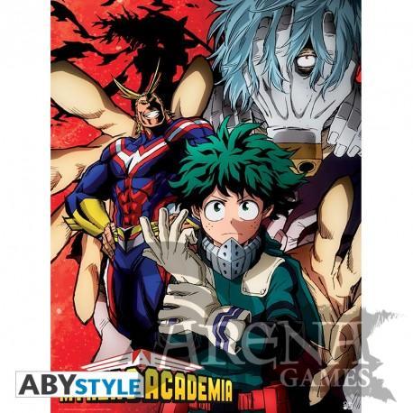 Poster 52x38 – My Hero Academy – Deku VS Tomura
