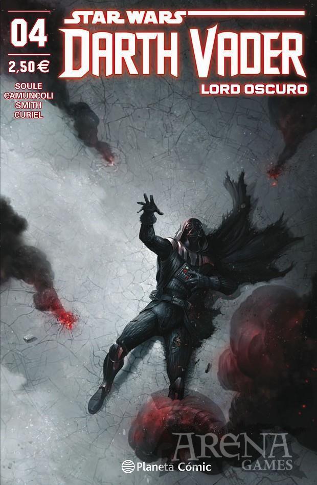 Star Wars - Darth Vader Lord Oscuro #04 - Planeta Comic