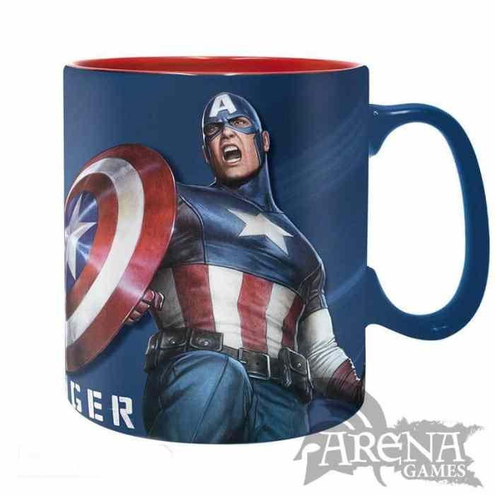 TAZA – Marvel 460 ML – Sentinel of Liberty