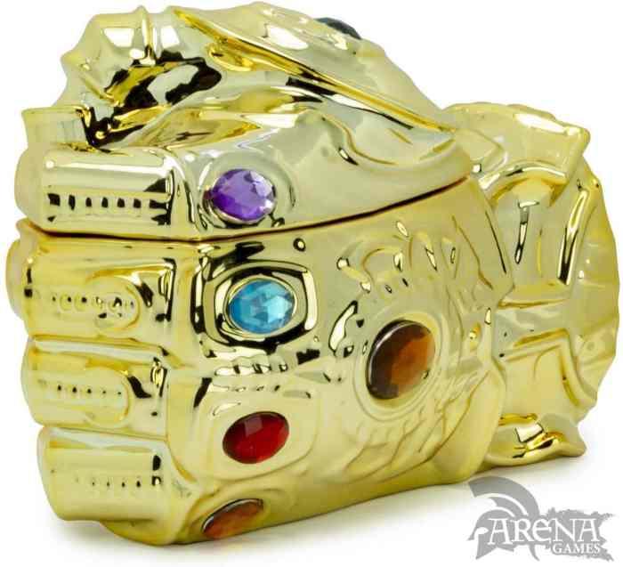 TAZA 3D – Marvel – Guantalete Thanos 350 ML
