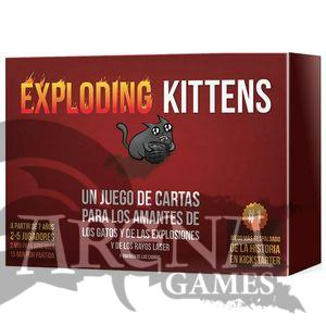 Exploding Kittens – Juegos de Mesa