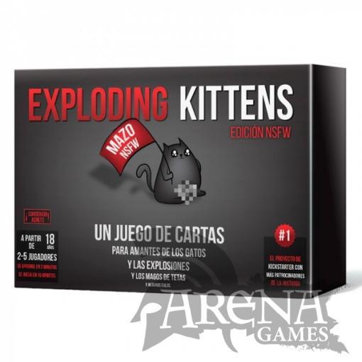 Exploding Kittens NSFW – Juegos de Mesa
