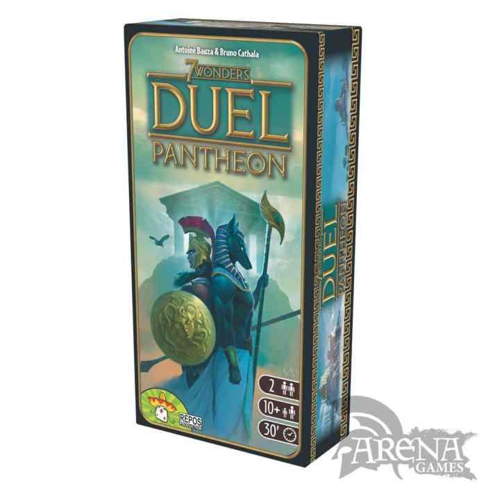 7 Wonders: Duel Pantheon – Juegos de Mesa