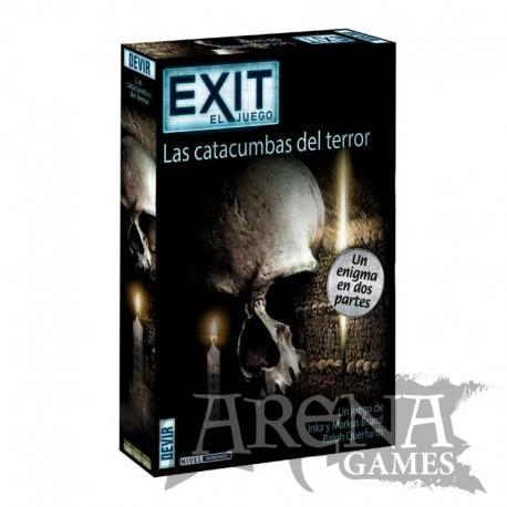 Exit: Las Catacumbas del Terror (Doble) – Juegos de Mesa – Devir
