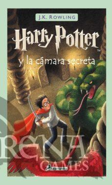 HARRY POTTER II LA CAMARA SECRETA (Tapa dura) – Salamandra
