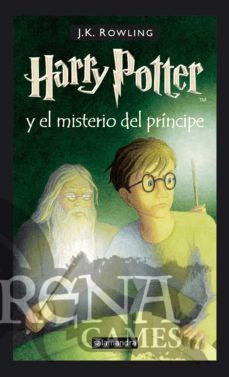 HARRY POTTER VI EL MISTERIO DEL PRINCIPE (Tapa dura) – Salamandra