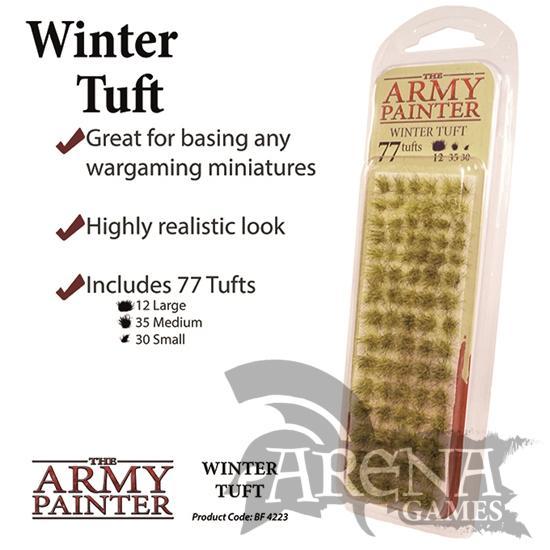 The Army Painter – Battlefields: Winter Tuft