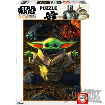 Puzzle Baby Yoda 1000 piezas - The Mandalorian
