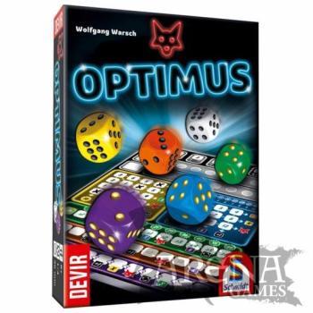 Optimus – Juegos de Mesa – Devir
