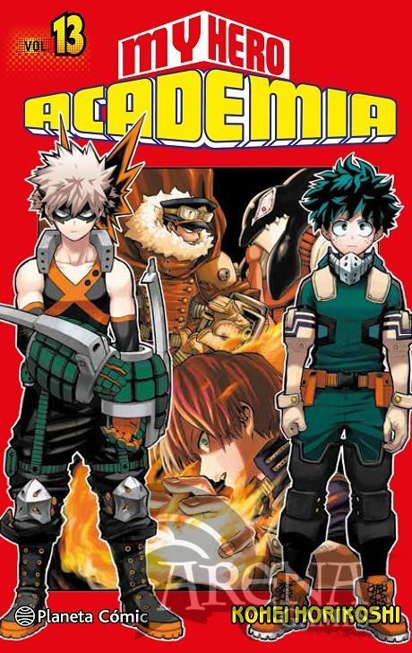 MY HERO ACADEMIA #13 - Planeta Comic