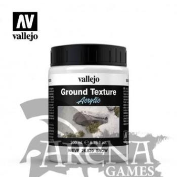Vallejo – Texturas de Terreno 820-200 ML. Nieve – 26820