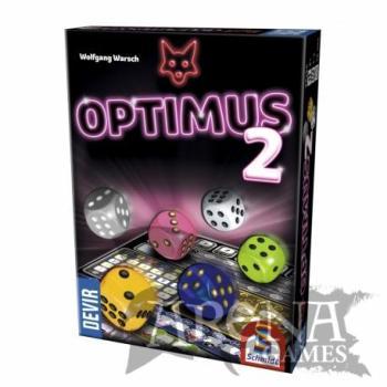 Optimus 2 – Juegos de Mesa – Devir