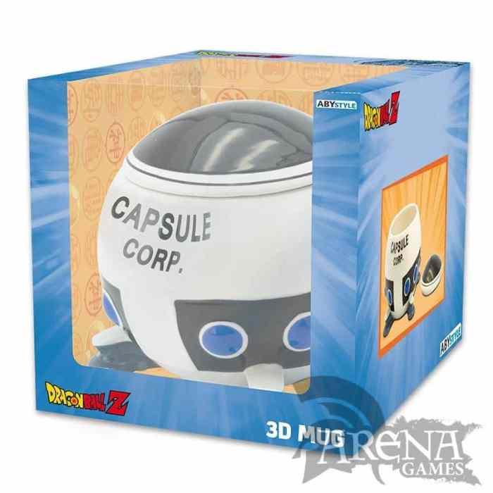 TAZA 3D – Dragon Ball – Capsule Corp Space Ship