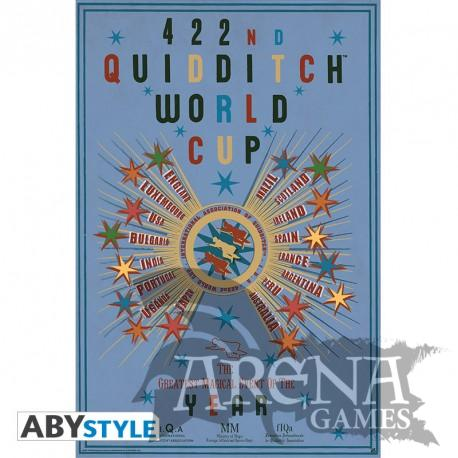 Poster 91,5x61 – Harry Potter – Quidditch World Cup