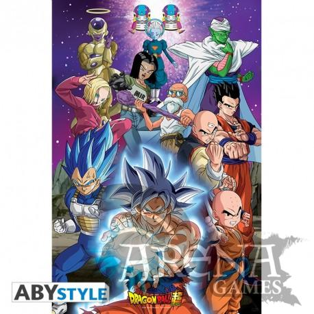 Poster 91,5x61 – Dragon Ball Super – Universo 7