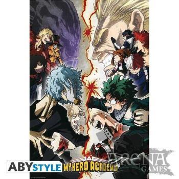 Poster 91,5x61 – My Hero Academia – Héroes VS Villanos