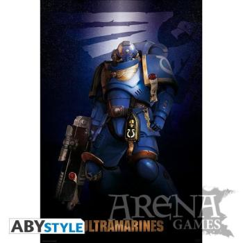 Poster 91,5x61 – Warhammer 40K – Ultramarine