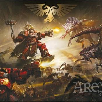 Poster 91,5x61 – Warhammer 40K – La Batalla de Baal