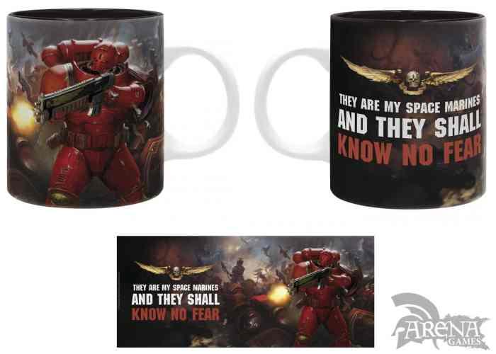 TAZA – Warhammer 40K 320 ML – Blood Angels