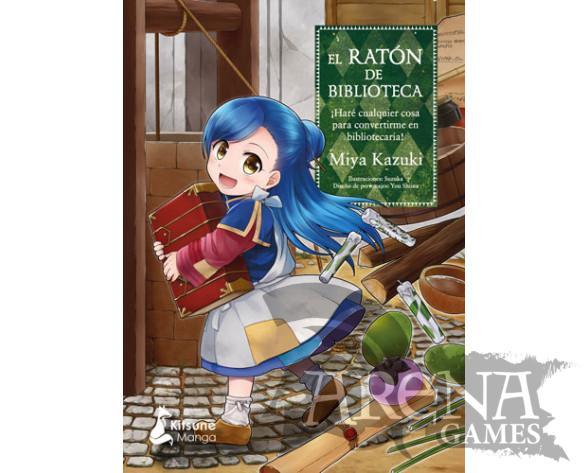 EL RATON DE BIBLIOTECA #01 - Kitsune Books
