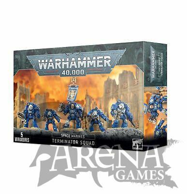 Space Marines Terminator Squad   48-10