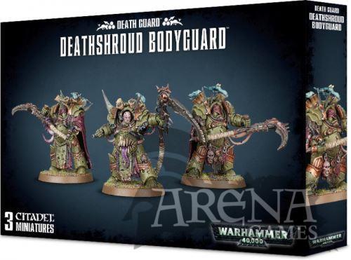 Death Guard Deathshroud Bodyguard   43-50