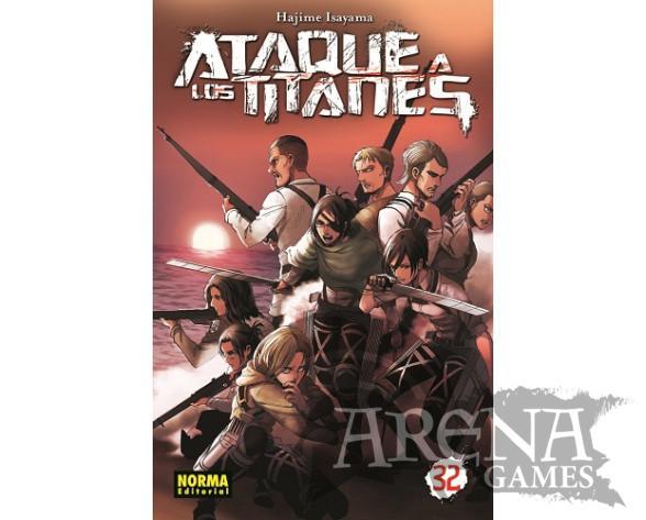 Ataque a los Titanes #32 - Norma