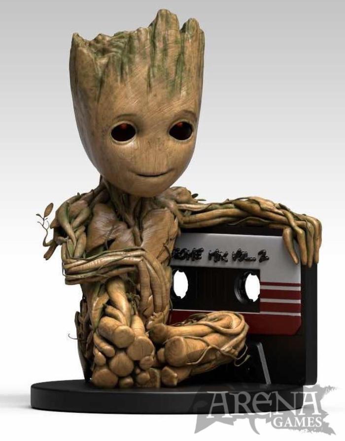 MARVEL – Hucha Baby Groot 25 cm