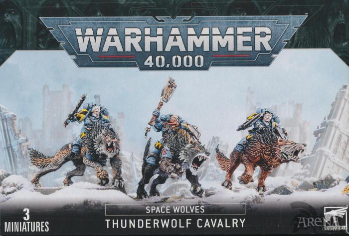 Space Wolves Caballeria del Lobo Trueno   53-09