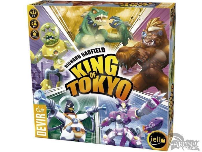 King of Tokyo – Juegos de Mesa – Devir