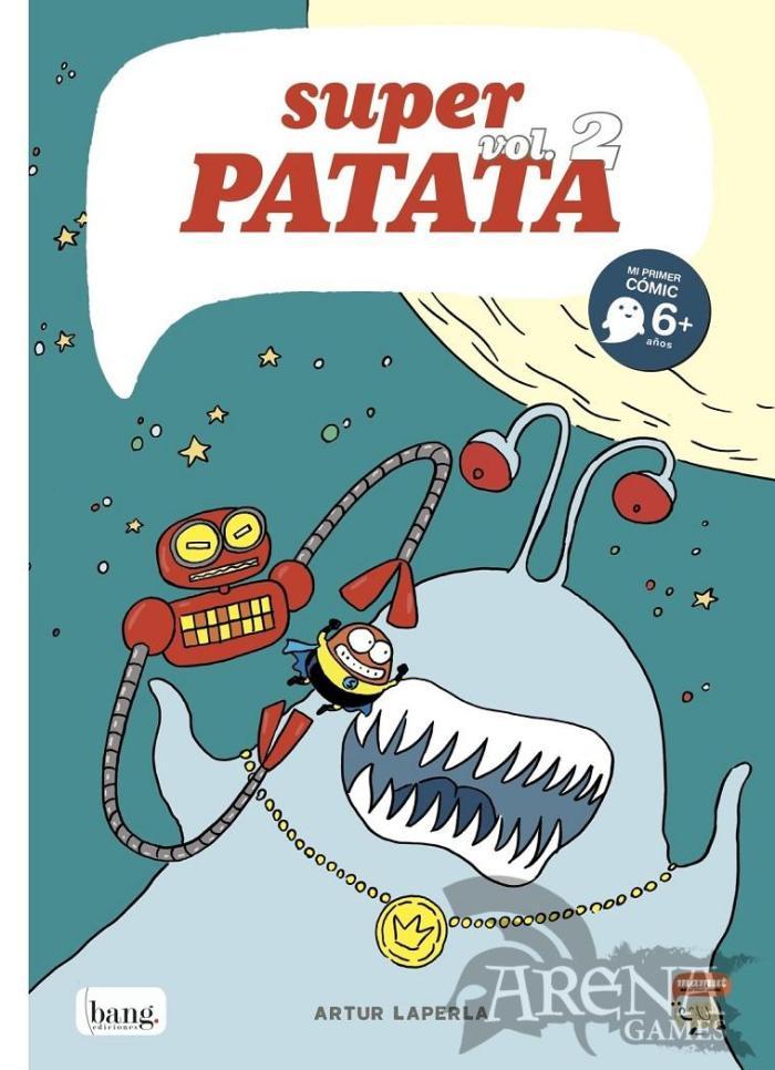 SUPERPATATA #02 Mi Primer Comic - Bang Ediciones