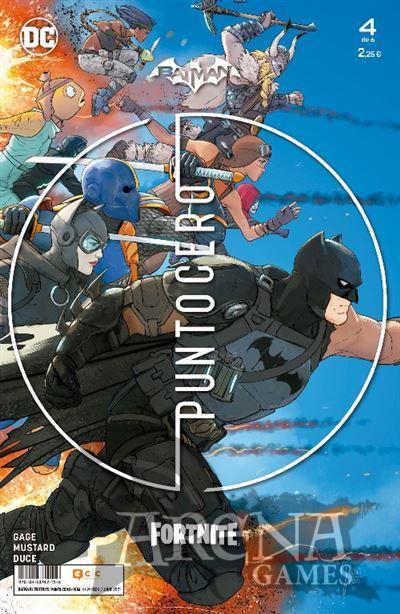 Batman/Fortnite: Punto Cero #04 - ECC