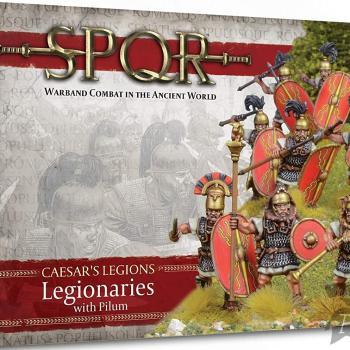 SPQR: Caesar's Legions Legionaries with Pilum