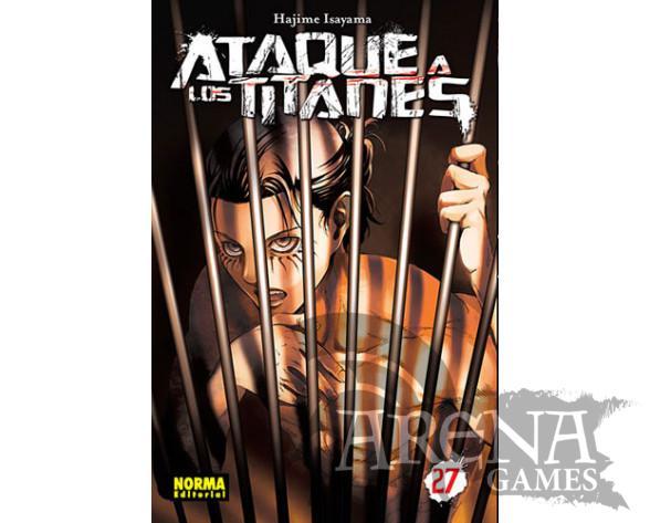 Ataque a los Titanes #27 - Norma
