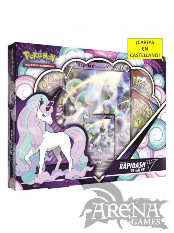 Pokémon TCG – Rapidash de Galar V BOX (Castellano)