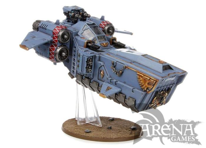Space Wolves Stormfang Gunship   53-11