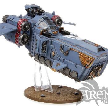 Space Wolves Stormfang Gunship | 53-11