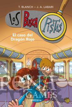 LOS BUSCAPISTAS #11 CASO DEL DRAGON ROJO - MONTENA