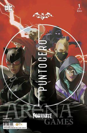 Batman/Fortnite: Punto Cero #01 - ECC