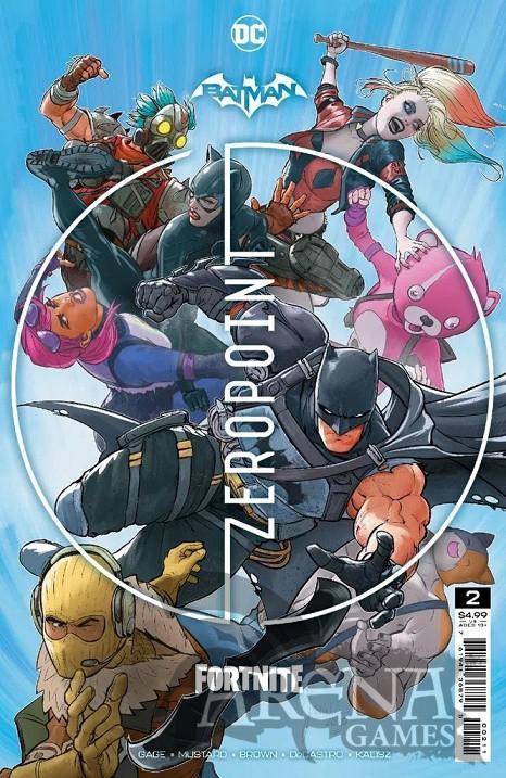 Batman/Fortnite: Punto Cero #02 - ECC